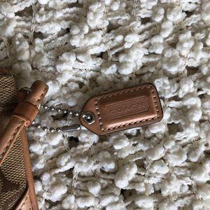 Coach Bags - Coach zippered wristlet